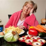 Lesley Cusack Sleep Eating Woman Eats a Day's Worth of Food at Night